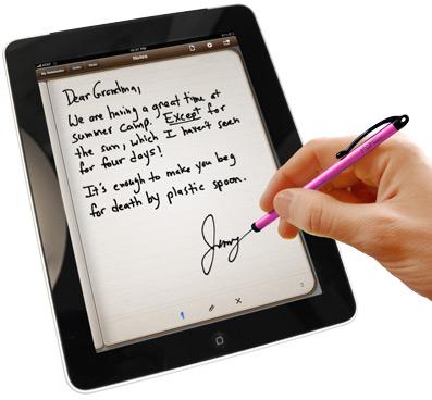 Pogo Sketch écriture