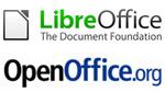 logo libreoffice et openoffice