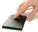ergonomic touchpad pavé tactile sans bouton